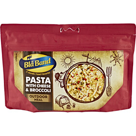 Bla Band Outdoor Meal Pasta with Cheese and Broccoli
